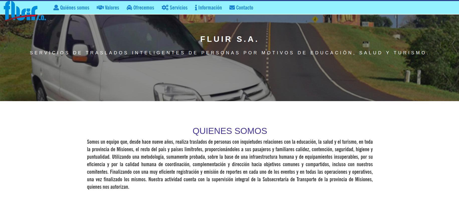 Web Fluir SA