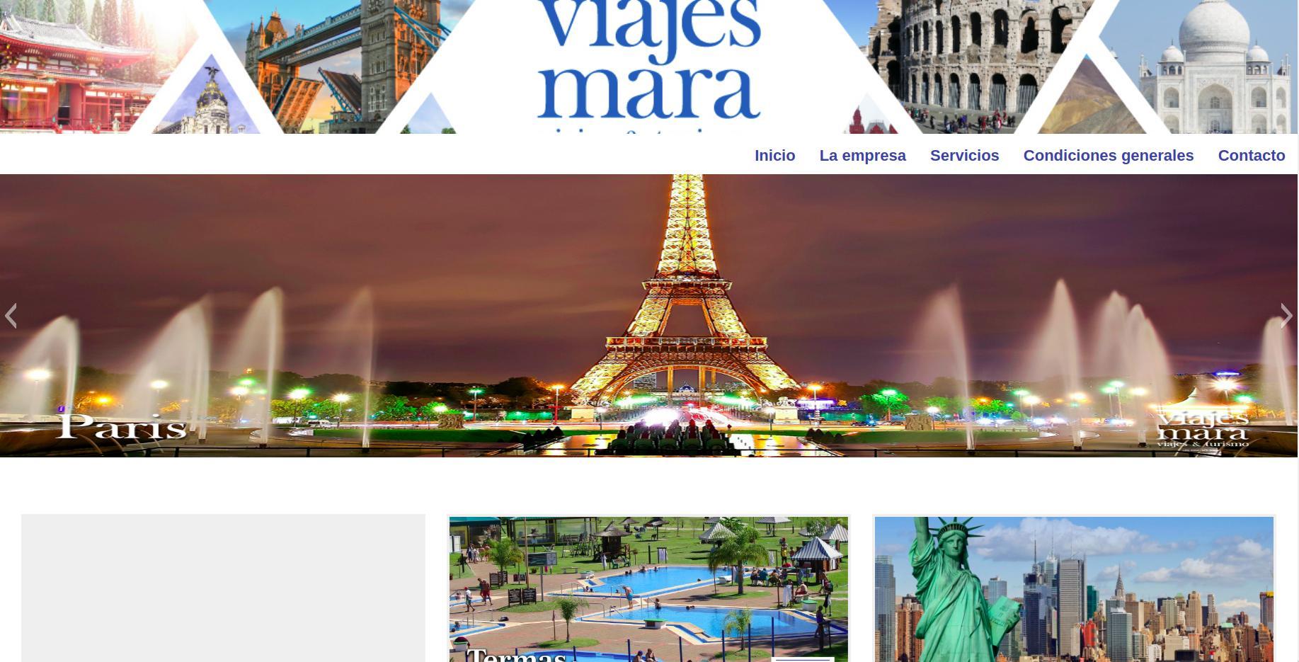 Web Viajes Mara